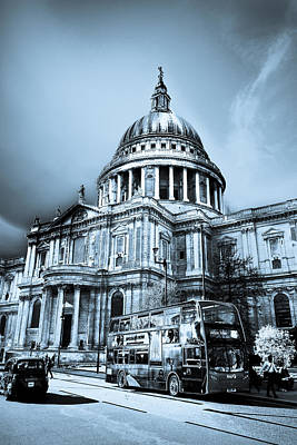 St Paul's Cathedral London Art Poster by David Pyatt