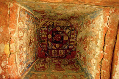 10th Century Murals Of The Ancient Poster by Jaina Mishra