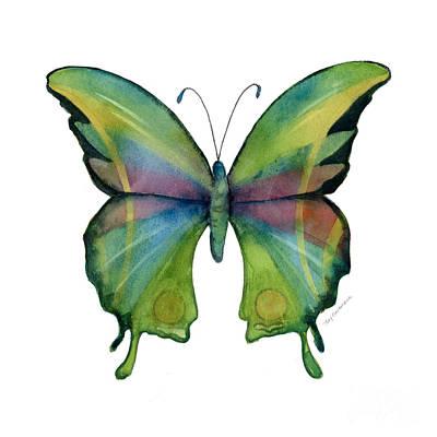 11 Prism Butterfly Poster by Amy Kirkpatrick