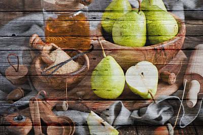Fruit Poster by Joe Hamilton