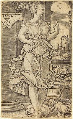 Heinrich Aldegrever German, 1502 - 1555-1561 Poster by Quint Lox