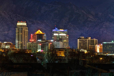 Salt Lake City Utah Poster by Utah Images