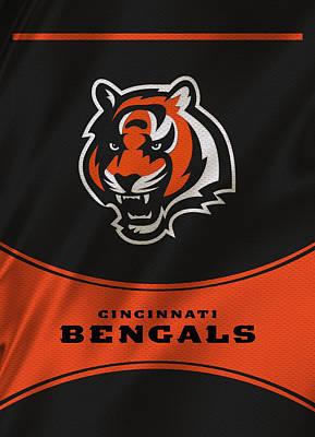 Cincinnati Bengals Uniform Poster by Joe Hamilton