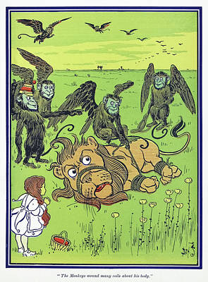 Wizard Of Oz, 1900 Poster by Granger