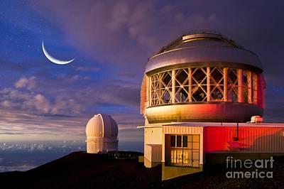 Gemini North Telescope, Hawaii Poster by David Nunuk