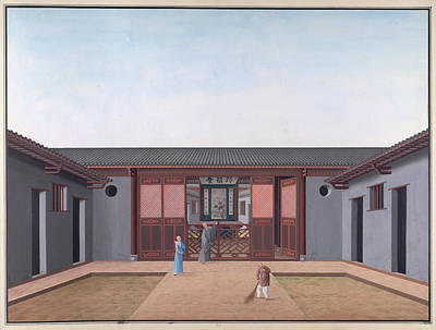 Honam Temple Poster by British Library