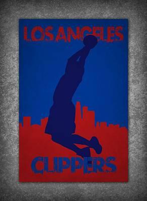 Los Angeles Clippers Poster by Joe Hamilton