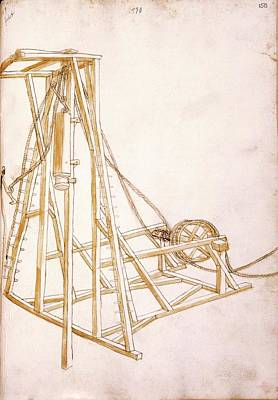 14th Century Military Equipment Poster by Scientific, Historical, And Didactic Manuscripts/ Bellifortis/new York Public Library