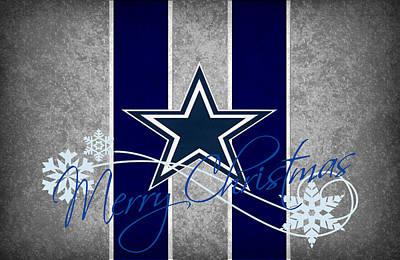 Dallas Cowboys Poster by Joe Hamilton