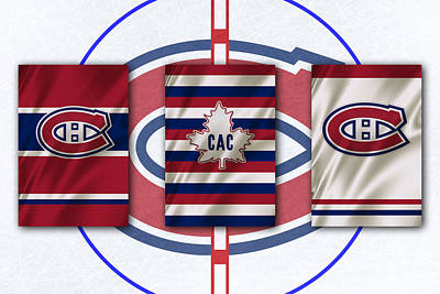 Montreal Canadiens Poster by Joe Hamilton