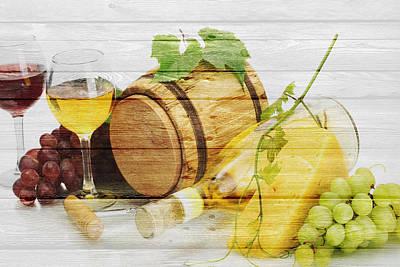 Wine Poster by Joe Hamilton