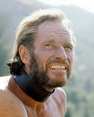 Charlton Heston In Planet Of The Apes  Poster by Silver Screen