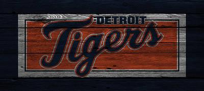 Detroit Tigers Poster by Joe Hamilton