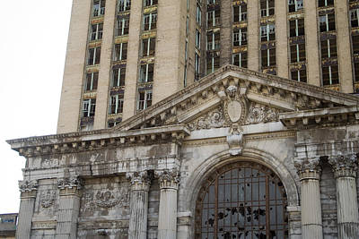 Michigan Central Station Poster by Gary Marx