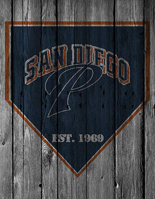 San Diego Padres Poster by Joe Hamilton