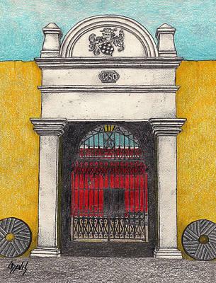 1650 Entrance Poster by Lew Davis