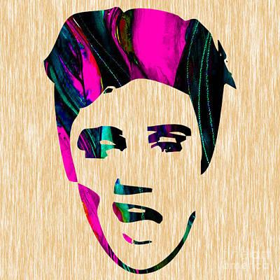 Elvis Presley Poster by Marvin Blaine