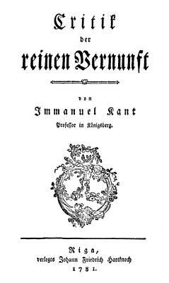Immanuel Kant (1724-1804) Poster by Granger