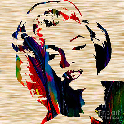 Marilyn Monroe Poster by Marvin Blaine