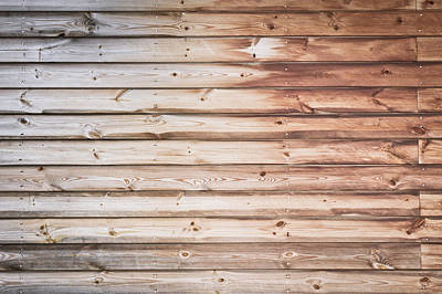 Wooden Background  Poster by Tom Gowanlock