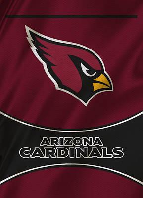 Arizona Cardinals Uniform Poster by Joe Hamilton