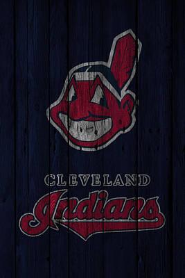 Cleveland Indians Poster by Joe Hamilton