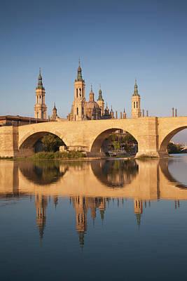 Spain, Aragon Region, Zaragoza Poster by Walter Bibikow