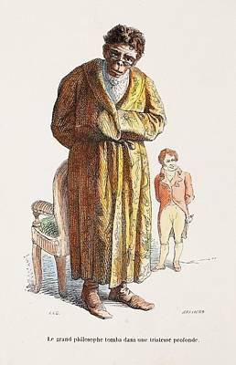 1842 Geoffrey Saint Hilaire Scientist Poster by Paul D Stewart