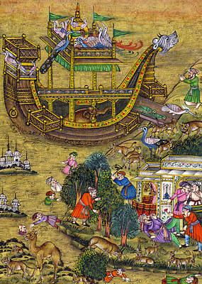 18th Century Ship Poster by Munir Alawi