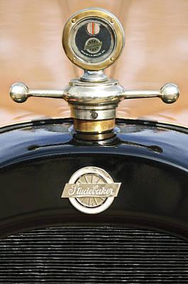 1922 Studebaker Touring Hood Ornament Poster by Jill Reger