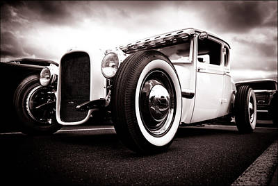 1928 A Coupe Poster by Phil 'motography' Clark