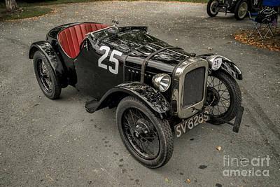 1928 Austin 7 Poster by Adrian Evans