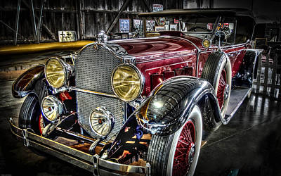 1929 Packard Phaeton Poster by Thom Zehrfeld