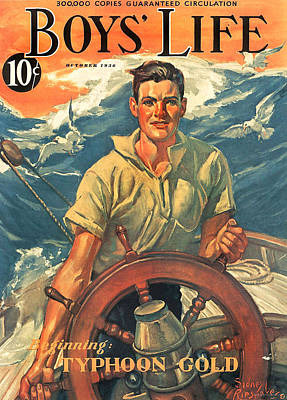 1930s Usa Boys Life Magazine Cover Poster by The Advertising Archives