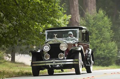 1931 Rolls-royce Phantom I Brewster St. Andrews Poster by Jill Reger
