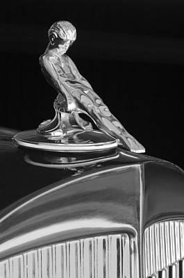 1934 Packard Hood Ornament 4 Poster by Jill Reger