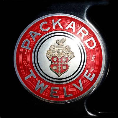 1934 Packard Twelve  Poster by Jack Pumphrey
