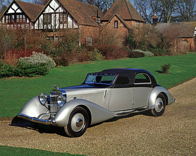 1935 Hispano Suiza K6 Fernandez & Poster by Panoramic Images