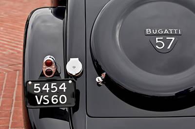 1937 Bugatti Type 57c Ventoux Poster by Jill Reger
