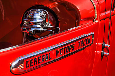 1940 Gmc Pickup Truck Poster by Jill Reger