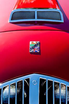 1950 Healey Silverston Sports Roadster Emblem Poster by Jill Reger