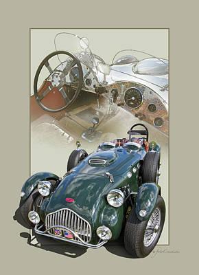 1952 Allard J2x Poster by Roger Beltz