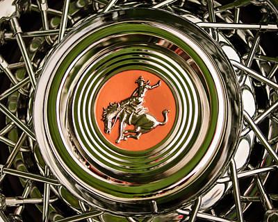 1952 Sterling Gladwin Maverick Sportster Wheel Emblem - 1720c Poster by Jill Reger