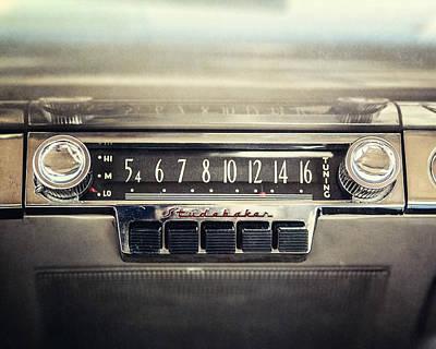 1953 Studebaker Land Cruiser Car Radio Poster by Lisa Russo