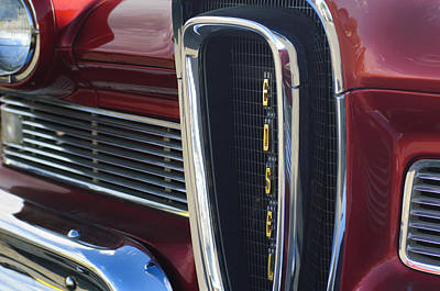 1958 Edsel Pacer Grille 2 Poster by Jill Reger