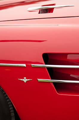 1958 Pegaso Z-103 Touring Berlinetta Side Emblem -1195c Poster by Jill Reger