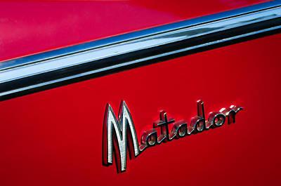 1960 Dodge Matador Emblem Poster by Jill Reger