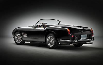 1961 Ferrari 250 Gt California Spyder Poster by Gianfranco Weiss