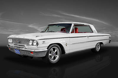 1963 Ford Galaxie 500 Poster by Frank J Benz