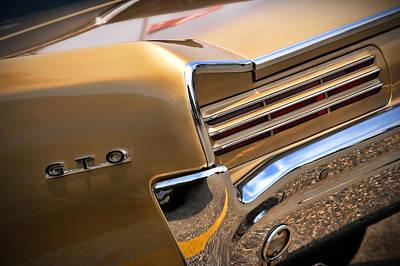1966 Pontiac Gto Tail Poster by Gordon Dean II